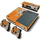 Pegatina para Consola Xbox One, Pegatina Protectora De Piel De PVC con Patrón De Anime De Moda Y Genial para Consola Y Controlador Xbox One S + Kinect,2395