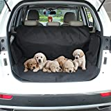 APlus Car Boot Cover for Dogs Waterproof Car Boot Liner Protector - Non Slip Cover Mat with Side Protection - Universal fits All Cars