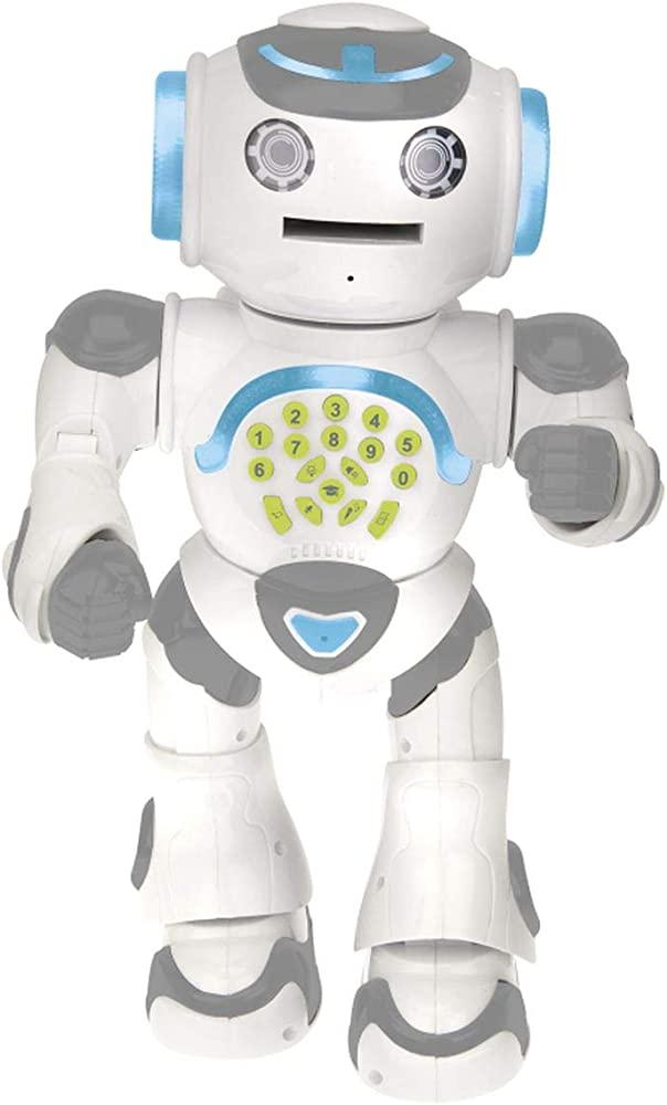 Invincible heroes - robot powerman - robot giocattolo parlante telecomandato
