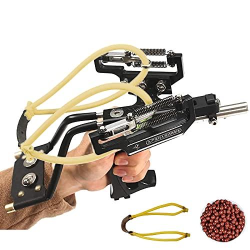 Stainless Steel Slingshot, Professional Adult Outdoor Hunting Slingshot,...