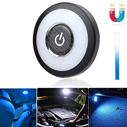 3 Farbe Auto Nachtlicht LED Nachtlicht Kofferraum Lichte CAR Deckenleuchte Leselampe | Magnetisch Dimmbar USB wiederaufladbar Led Licht für Car /PKW /LKW /Schrank /Camping/Lager/Wohnwagen/Zimmer