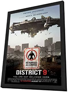 District 9 - 27 x 40 Framed Movie Poster