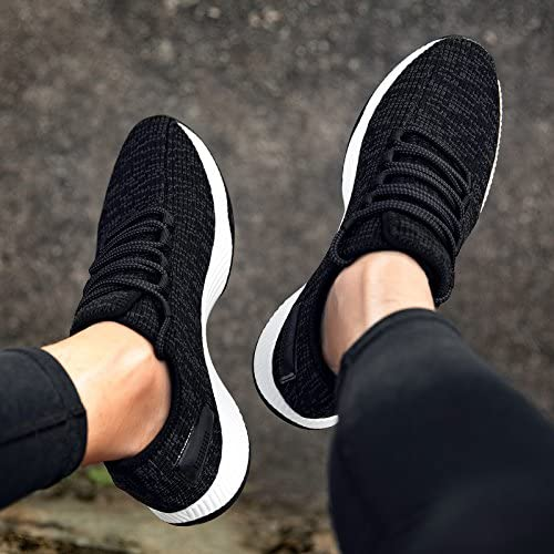GUNAINDMX Sports Hommes's chaussures Mesh Leisure Spring, 39, noir