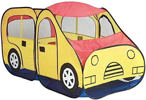 Schattig Play Tent Creative Car Design Kids Play Tent Foldable Indoor Toys speelhuisje for de kinderen Girls