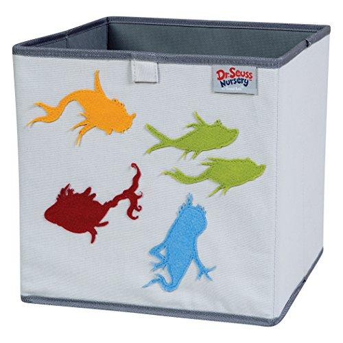 Dr. Seuss One Fish, Two Fish Storage Bin