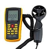 YISUNF Digital Velocidad del Viento Instrumento de medición Digital de Gran precisión la Velocidad del Viento Instrumento de medición