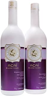 Brazilian Acai Keratine Blow Dry Treatment KIT (Shampoo and Keratin)- Eternity'Liss LIMITED PROMOTION TILL THE END OF MARCH