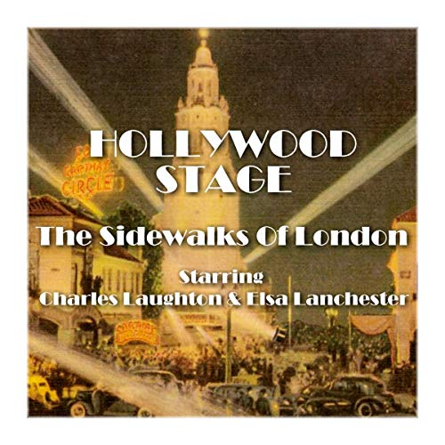 Hollywood Stage - The Sidewalks of London audiobook cover art