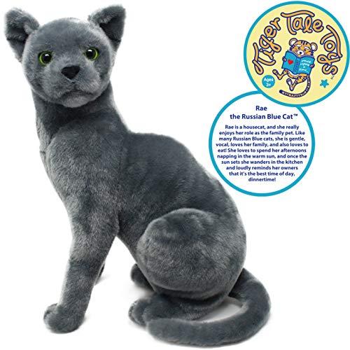 russian blue cat stuffed animal - 1