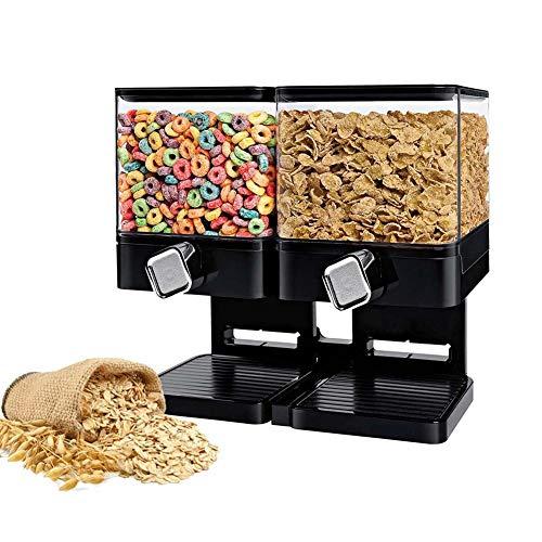 XGG Praktischer Müslispender Cornflakesspender Cerealien Trockenlebensmittel Spender, für Müsli, Cornflakes und Cerealien