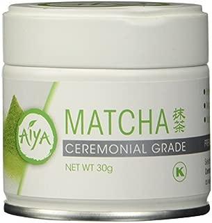 Aiya America Ceremonial Grade Matcha Green Tea Powder by Aiya America