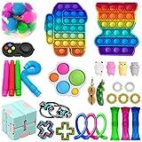 Freshwater Fidget Toys Set barato,30 Fidget Pack,Juguetes sensoriales para Beeds especiales TDAH autismo,Alivio del estrés Juguete sensorial de la mano, juguete sensorial para niños pequeños