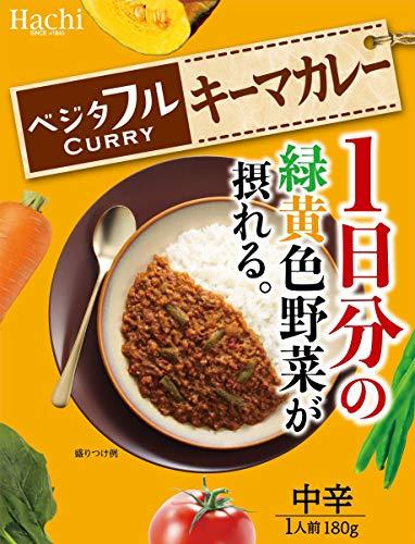 ハチ食品 ベジタフルキーマカレー 180g×4袋
