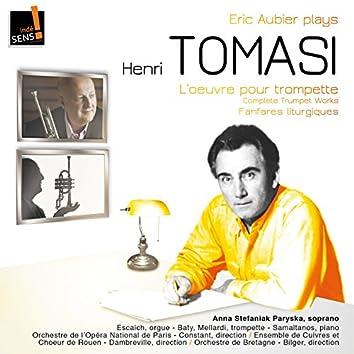 Tomasi: l'intégrale de l'oeuvre pour trompette & Fanfares liturgiques (Complete Works with Trumpet & Fanfares Liturgiques)