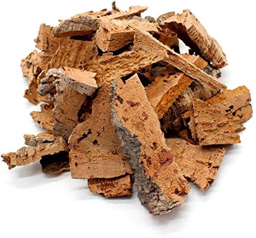 0,5kg schöne, saubere Korkstücke bzw. Korkreste zum Beknabbern, Basteln, Dekorieren oder für Terrarien | Korkrinde