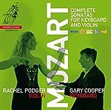 Mozart : Intégrale des sonates pour violon et piano. Podger, Cooper.