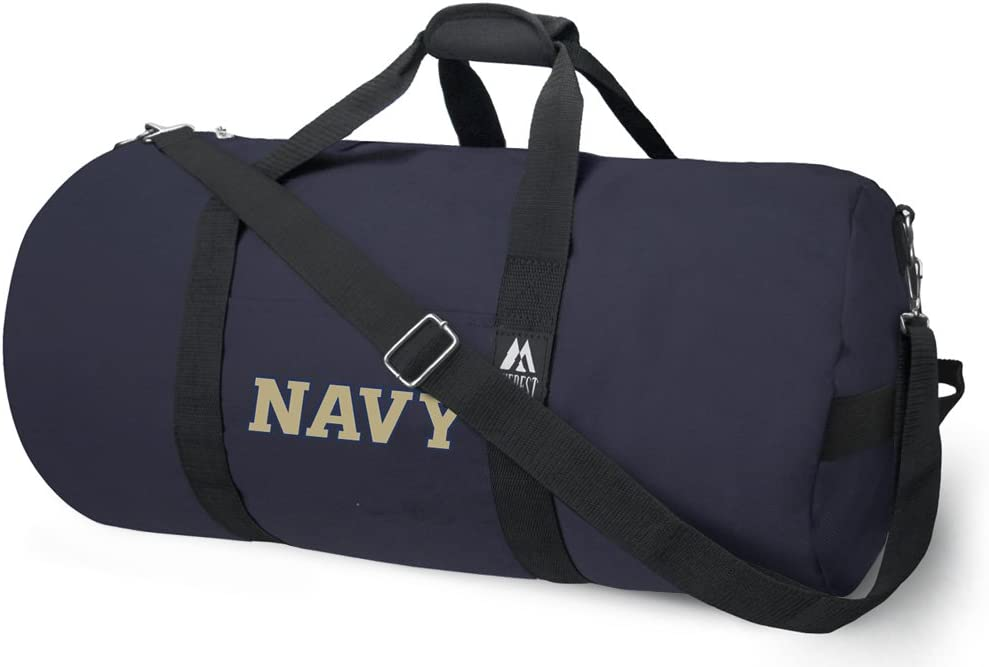 Broad Bay Official Naval Academy Duffle Navy Bag Portland Mall or Gym Weekly update USNA