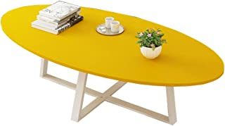 Amazon Fr Table Basse Jaune