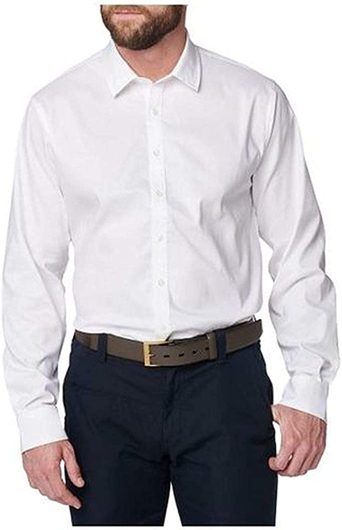 5.11 Tactical Men's Mission Ready Dress Shirt, Regular Fit, Long Sleeve, Flex-Tac Canvas, Style 72490
