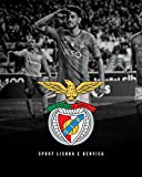 Nalana Poster Benfica Football UH-060 Bar Living Room