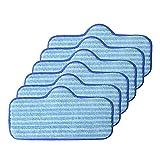 NICERE Repuesto de aspiradora 4/8/10 piezas de microfibra trapeador lavable para aspirador de vapor Dupray limpiado, almohadillas de fibra para fregona (color: 4 piezas) (color: 6 piezas)