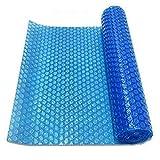 Cobertor solar para piscinas Estera Casera al Aire Libre del Protector Piscina, Manta Solar Flotante de Agua Cubierta de Polvo a Prueba de Lluvia Manta Calefactora para Detener la Evaporación Agua