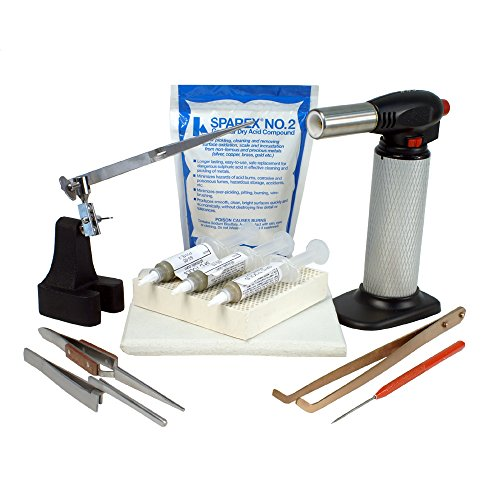 Jewelry Soldering Kit with Soldering Paste and Butane Torch - SFC Tools - Kit-1780