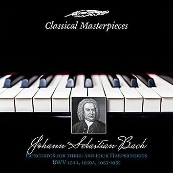 Johann Sebastian Bach: Concertos for Three and Four Harpsichords BWV1044,1050a,BWV1063-1065 (Classical Masterpieces)