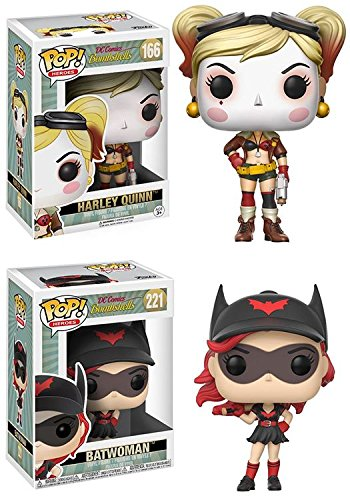 Funko POP! DC Bombshells: Harley Quinn + Batwoman