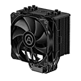 CPU Cooler with 5 Direct Contact Heatpipes, ARESGAME CPU Air Cooler for Intel/AMD with 120mm PWM Fan (Black 5)