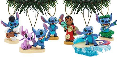 Characteristix Disney's Lilo & Stitch Ornament Set