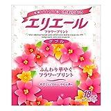 エリエール トイレットペーパー フラワープリント 25m×18ロール ダブル パルプ100% 優雅な花の香り