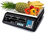 Maxell Power CE BASCULA Digital BALANZA Digital Electronica para Comercio Pesa FRUTERA 40KG MP-BCS50