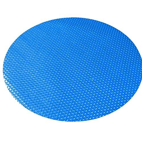 Athemeet Pool-Abdeckung - Solar Pool-Abdeckung für Runde, UV-Schutz Blase Wärmeisolierung Film Pool-Abdeckung, Frame Pool Cover Wärmeisolierung Film für Indoor Outdoor Frame Pool, rund 10ft