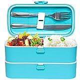 Veggycook Lunch Box Boîte à Repas bento Hermétique avec compartiments pour adultes...