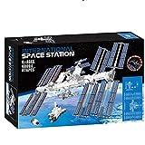 Hinder Juguete de construcción de la estación espacial internacional, divertido juguete educativo para niños, juego para adultos, ideal como regalo de cumpleaños, nuevo 2020