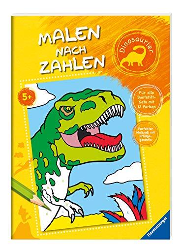 Preisvergleich Produktbild Malen nach Zahlen: Dinosaurier
