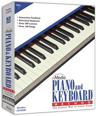 eMedia Cheap SALE Start Piano and Keyboard Popular product v1 Version Old Method