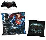 WA16009 Cuscino Decorativo Quadrato Batman VS Superman Dawn of Justice 40x40 cm. Media Wave Store ®