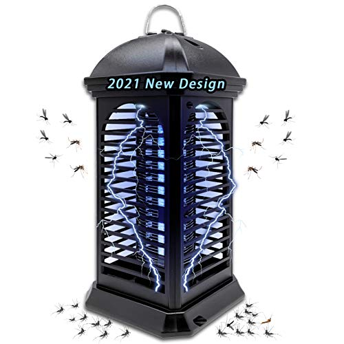 Bug Zapper,Powerful Insect Killer,Electric Mosquito Zappers Killer - Insect Fly Trap,with Uv Mosquito Lamp for Indoor,Home