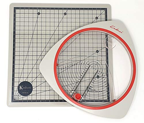 Cutter circular para hacer círculos perfectos con base de corte adherente y auto cicatrizante