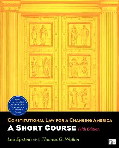 BUNDLE: Epstein: Constitutional Law for a Changing...