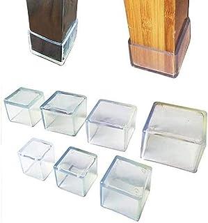 Tapas De Patas De Sillas Tapas De Patas De Sillas De Silicona Tazas Almohadillas Muebles Cubiertas D