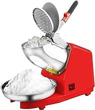 SHIJIAN Argent 187lbs / hr résistant à l'eau de machine de fabricant de cône de neige de broyeur à glace électrique pour l...