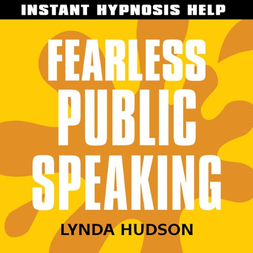 Fearless Public Speaking audiobook cover art