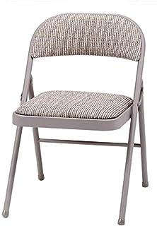 comprar comparacion MECO Deluxe silla plegable de acero acolchado, color marrón, 94 x 47 x 7 cm