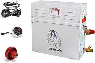 ECO LLC 220V 9KW Steam Generator Sauna Bath Home Spa Shower ST-90 and ST-135 Controller