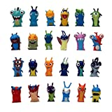 EASTVAPS 24pcs/Set 5cm Anime Cartoon Slugterra Mini PVC Action Figures Toy