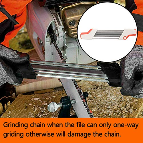 Areyourshop 2 in 1 Chainsaw Teeth Quick Sharpener File for STIHL .325