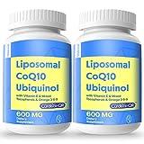 Liposomal CoQ10 600 mg Softgels, High...